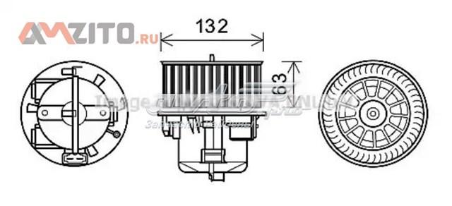 мотор вентилятора печки (отопителя салона)  VO8178