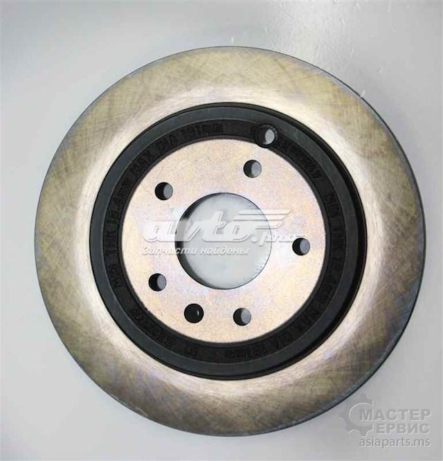 Фото: Диск тормозной задний Chevrolet Captiva