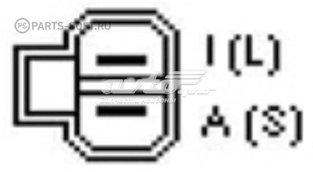 реле-регулятор генератора (реле зарядки)  YR596