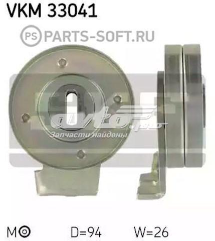 ролик натягувача приводного ременя  VKM33041