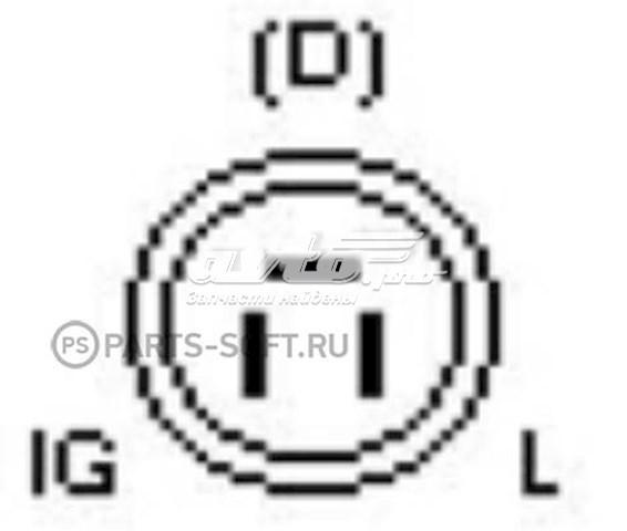 реле-регулятор генератора (реле зарядки)  YR651