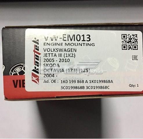 сайлентблок передній балки/підрамника  VWEM013