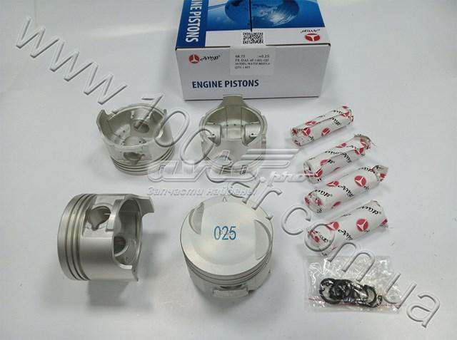 поршень в комплекте на 1 цилиндр, 1-й ремонт (+0,25)  PXDAE4F1402025