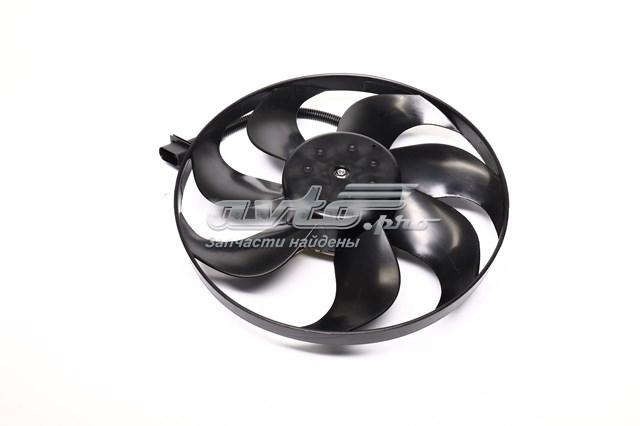 електровентилятор охолодження в зборі (двигун + крильчатка)  VN7521