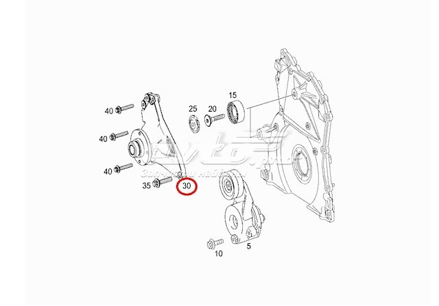 906 mercedes benz fuel pump location