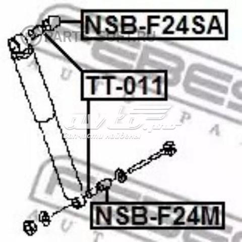 Сайлентблок амортизатора заднего NISSAN 56119MD00B
