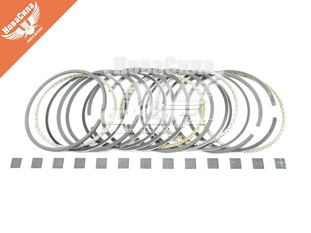 кольца поршневые комплект на мотор, 3-й ремонт (+0,75)  K41153080