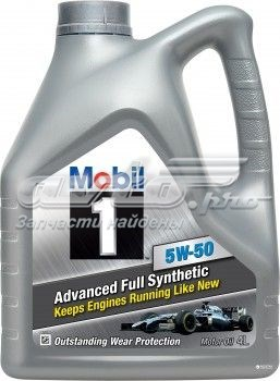 масло моторное 5w-50 MOBIL104