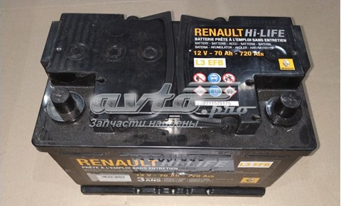7711575175 Renault (RVI) акб