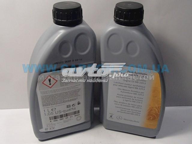 масло моторное 5w-40 A0009898301BAA6
