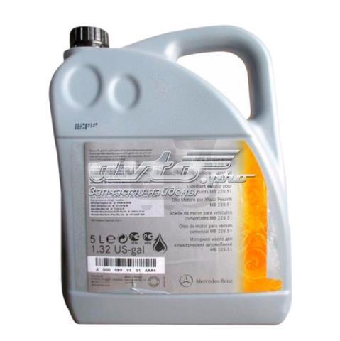 масло моторное полусинтетическое A0009899101BAA4
