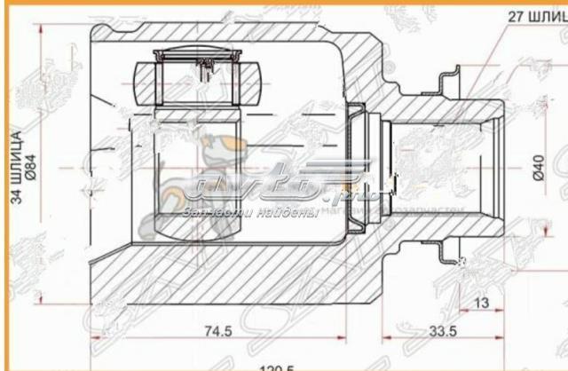 Внутренний шрус HONDA 44310TL1306