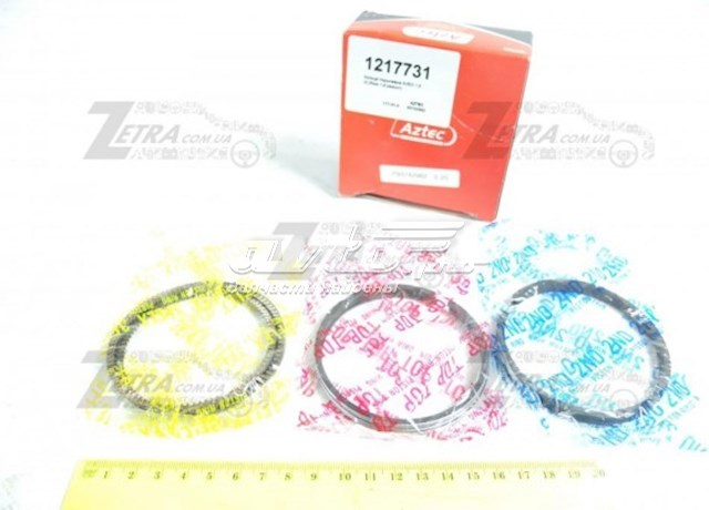 Кольца поршневые на 1 цилиндр, 1-й ремонт (+0,25)
