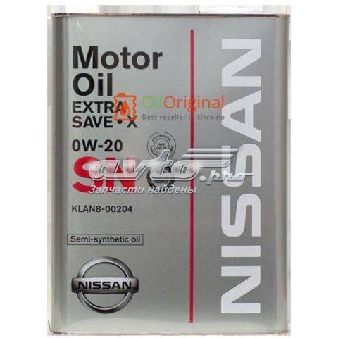 масло моторное объем, л: 4 KLAN800204