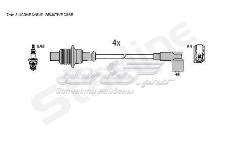 провода высоковольтные, комплект  ZK4884