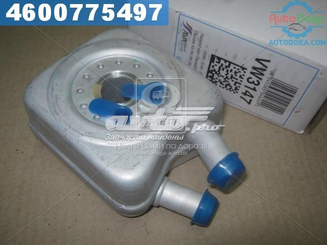 радиатор масляный (холодильник), под фильтром  VN3147