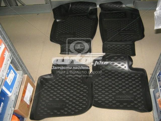 коврики передние + задние, комплект  PP201