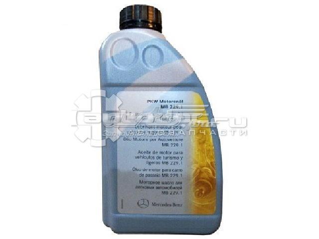 масло моторное полусинтетическое A0009893301AAA6