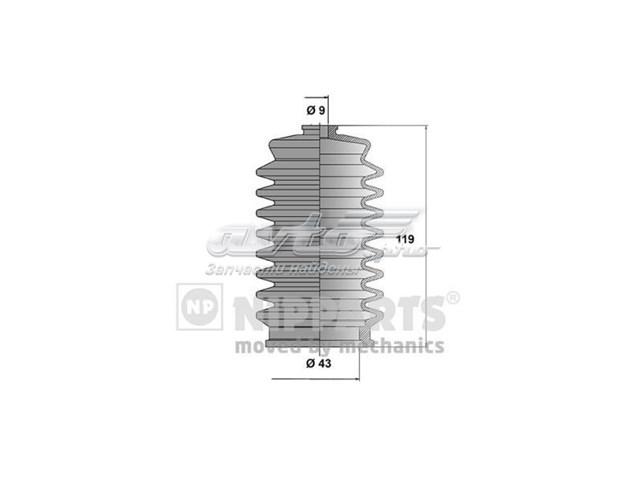 пыльник рулевого механизма (рейки)  TY204DUSTER