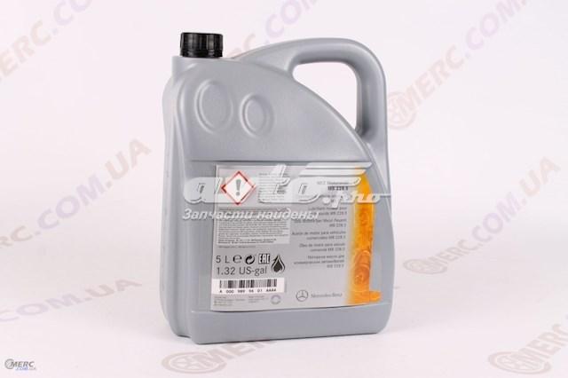 масло моторное полусинтетическое A0009899601