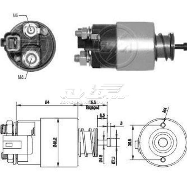 стартер  ZM2391