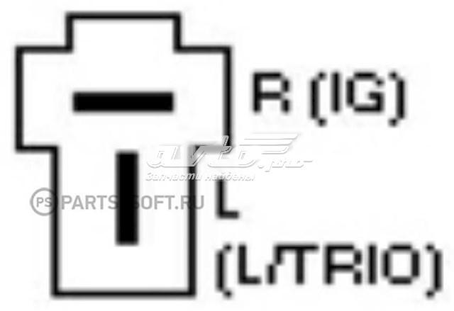 реле-регулятор генератора (реле зарядки)  yr570