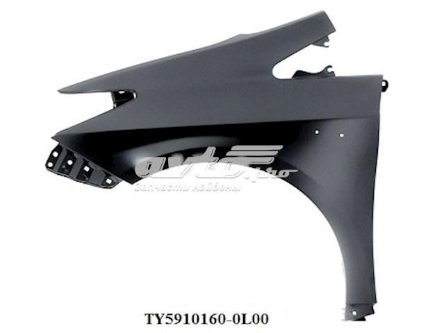 крило переднє ліве  TY71012L