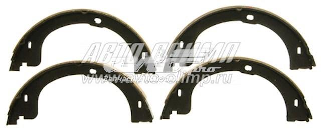 колодки ручника (стояночного тормоза)  Z811