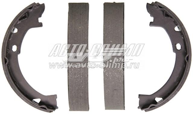 колодки ручника (стояночного тормоза)  Z725