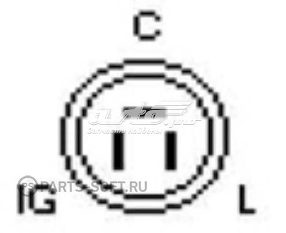 реле-регулятор генератора (реле зарядки)  YR634