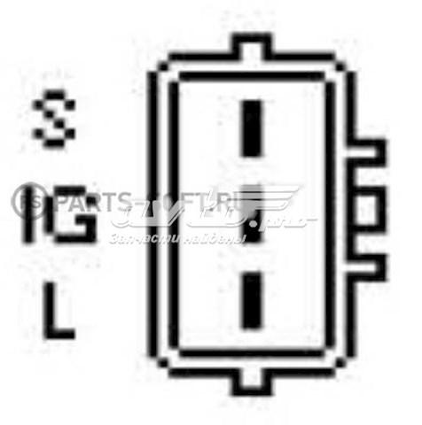реле-регулятор генератора (реле зарядки)  YR656H