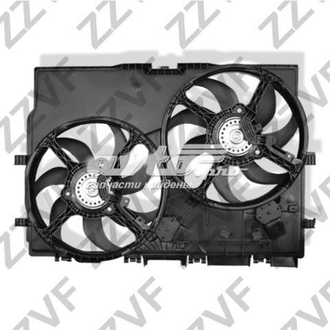 електровентилятор охолодження в зборі (двигун + крильчатка)  ZVVE001