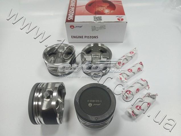 поршень в комплекте на 1 цилиндр, 3-й ремонт (+0,75)  PXDAE4A35480752