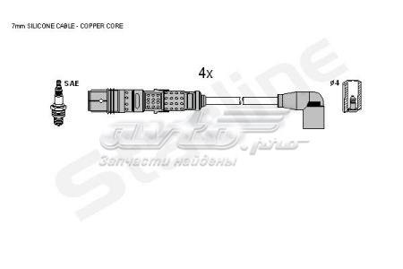 провода высоковольтные, комплект  ZK3971