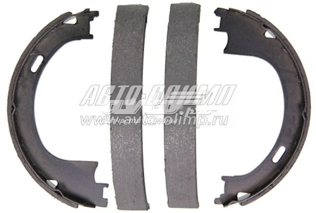 колодки ручника (стояночного тормоза)  Z752