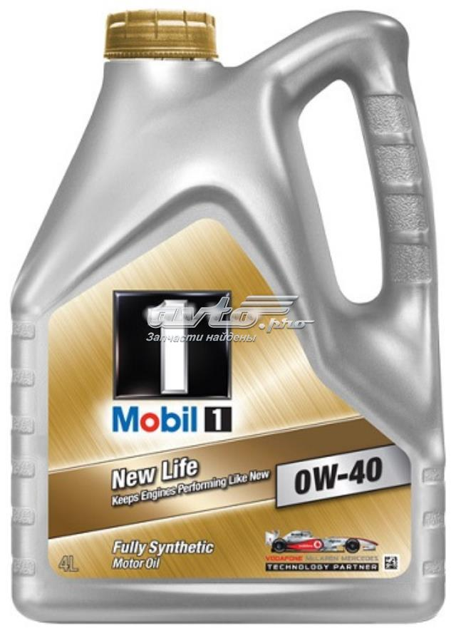 масло моторное 0w-40 mobil14