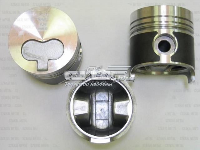 поршень в комплекте на 1 цилиндр, 3-й ремонт (+0,75)  93784730