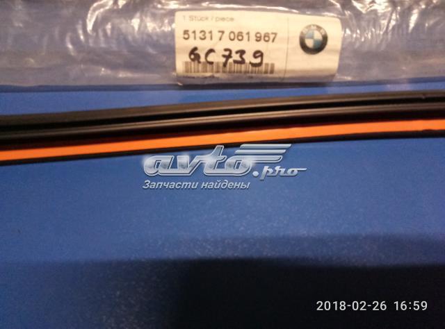 Original BMW Frontscheibe Abdeckung oben 51317061967