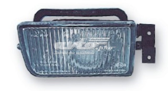 фара противотуманная правая  ZBM2002KR