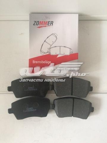 колодки гальмівні передні, дискові  Z410608481R