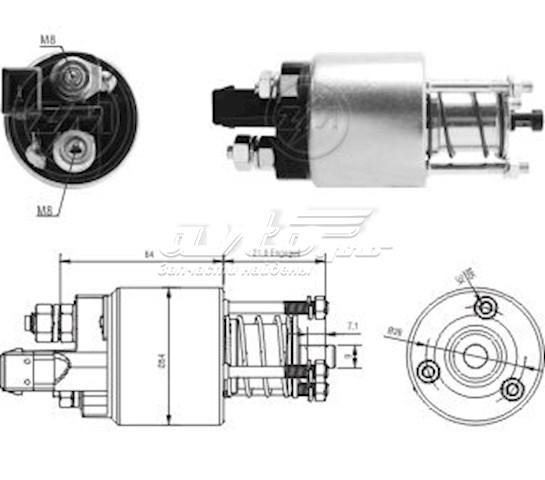 стартер  ZM4397