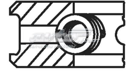 кольца поршневые компрессора на 1 цилиндр, 1-й ремонт (+0,25)  20522V1