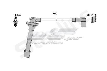 провода высоковольтные, комплект  ZK3762