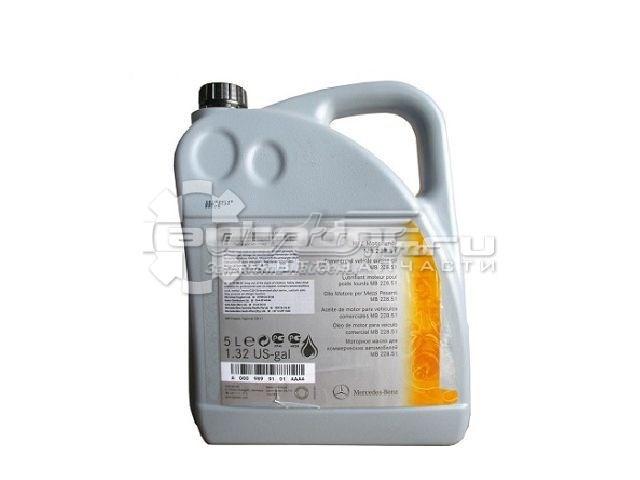 масло моторное полусинтетическое A0009899101AAA4