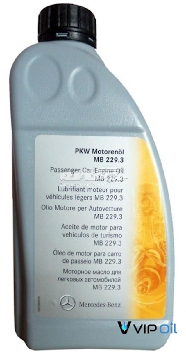 масло моторное 5w-40 A0009898201BAA6