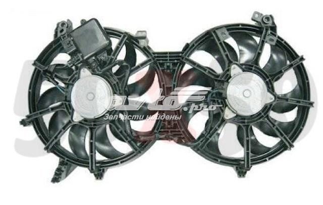 електровентилятор охолодження в зборі (двигун + крильчатка)  STIN612010
