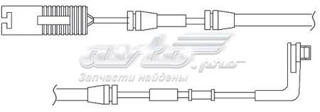датчик износа тормозных колодок передний  WS0224