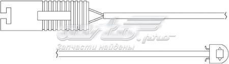 датчик износа тормозных колодок задний  WS0161