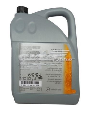 масло моторное 5w-40 0009898201AAA4