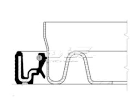 Сальник коленвала двигателя задний для Audi A6 4B, C5 универсал (1997 - 2005) - Сравнить цены, купить на Авто.про